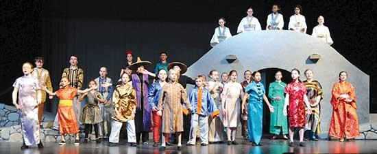 "BCT's ""Mulan Jr. ""this weekend, audiences will take you back to the legendary, storytelling days of ancient China.  That world comes to life, thanks to the talented artistic staff, including Set Designer/Painter, Tammy Bryant; Set Builder, Philip..."