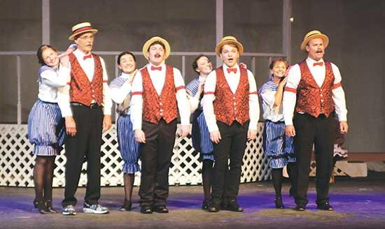 """Musicals are often billed as fun for the whole family. With Buffalo Community Theater's """"The Music Man,"""" that's true not only for audiences, but for actors and directing staff, too. BCT launched a mission to cast family members in this summer..."""