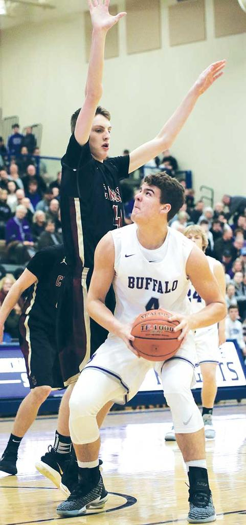 Three minutes.Top-seeded Maple Grove used a 16-0 run, over a three-minute span, to turn a 15-10 deficit with 12:48 left in the first half into a 26-15 lead with 9:48 remaining.The 16-point swing was one second-seeded Buffalo could never make up in...