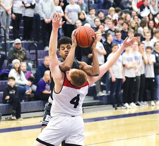 The Buffalo boys' basketball team had the perfect Valentine's Day date – literally.Undefeated Eden Prairie brought its perfect 22-0 record and No. 1 ranking to the table in last Friday's home game against a Bison team that had won three of their...