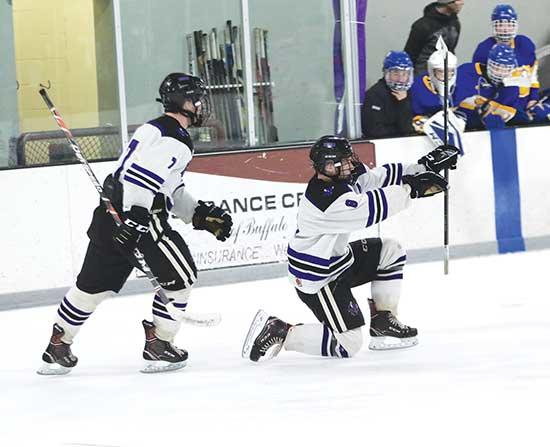 What a difference a year makes.One year removed from suffering a season-ending loss to St. Michael-Albertville in the Section 8AA quarterfinals, this year's Buffalo boys' hockey team turned the tables with a 4-0 section quarterfinal home win...
