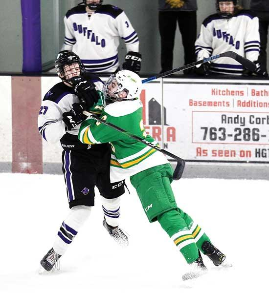 "About halfway through the second period of last Thursday's home game between the Buffalo boys' hockey team against Edina, the chant ""Daddy's Money"" could be heard from the Bison student section.Edina, which is the brunt of many good-natured chants..."