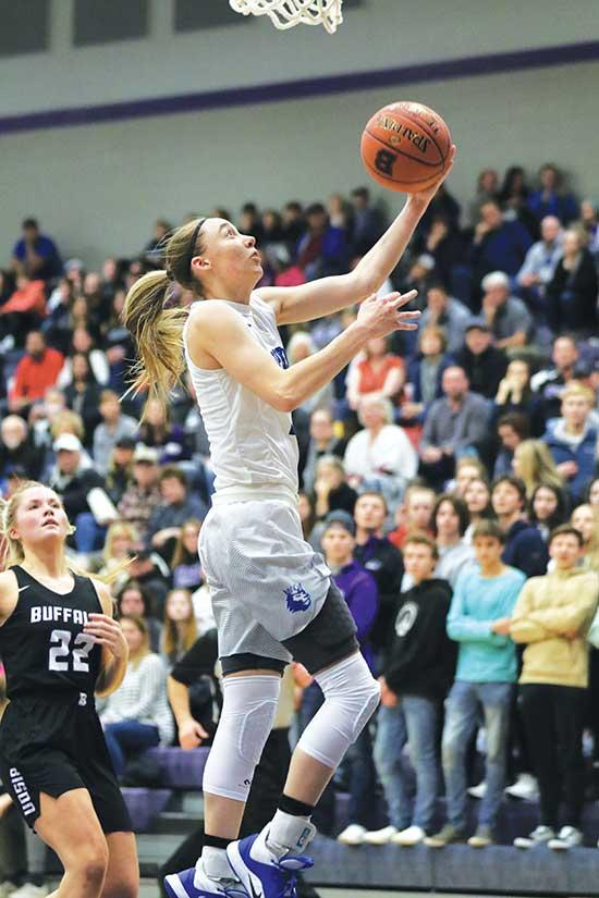 Buffalo sophomore Brooke Gunderson felt the buzz in the air long before the start of last Friday's home game against defending Class 4A state champion and No. 1 ranked Hopkins.The undefeated Royals (20-0) are young on paper, but deep in talent, led...