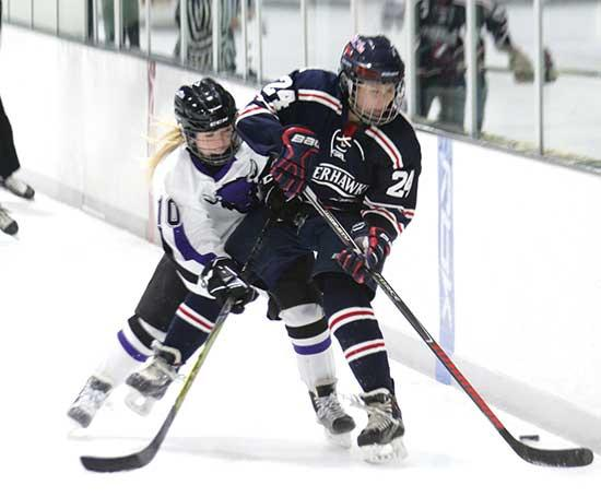 After traveling nearly 500 miles in two days, the offense finally awoke during the third period of last Saturday's road game at Moorhead.After being shutout 3-0 the prior evening in Roseau, the Bison girls' hockey team responded with a 6-2 road win...
