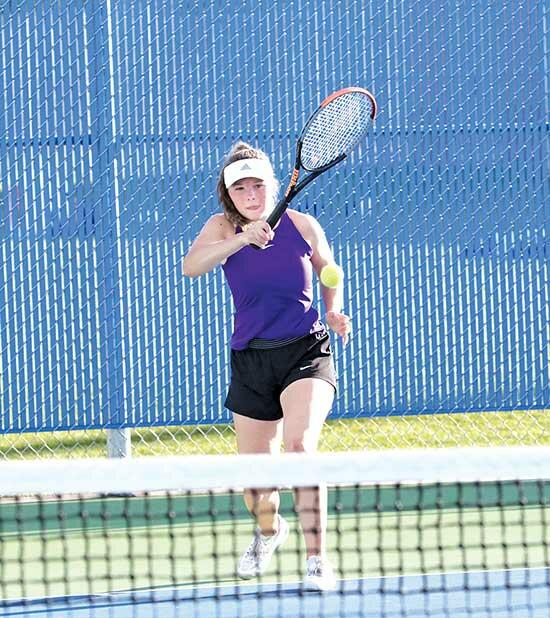 Buffalo goes 3-0 at home invite; victory over STMA strengthens spot in standingsAfter dropping matches to section rivals Rogers and Champlin Park in the first invite of the season, the Buffalo girls' tennis team came away with a key 7-0 road win...