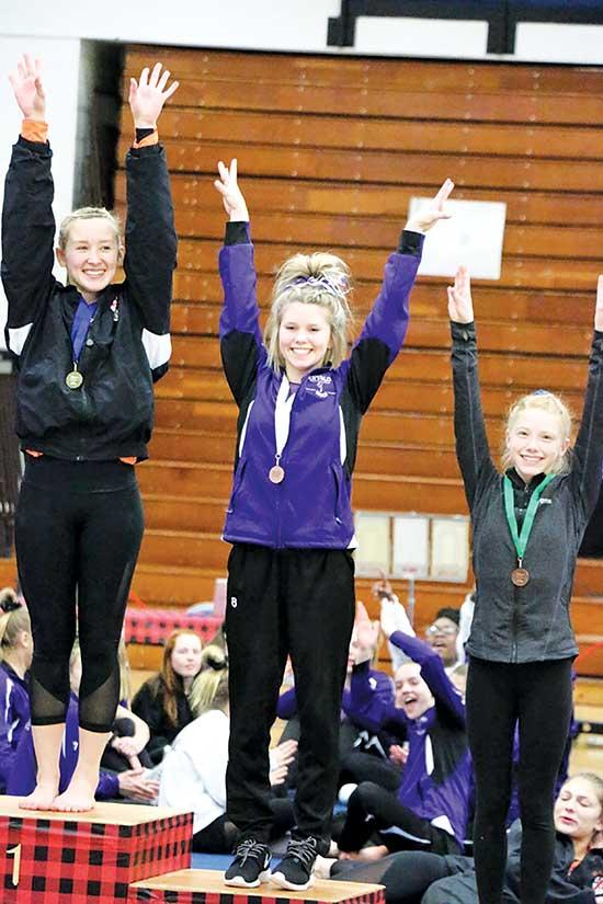 Last Saturday's Section 8AA gymnastics meet in Brainerd got off to a rough start for Buffalo sophomore Madi Peters.After falling on one of her twist landings, Peters finished the routine in 16th place with a score of 8.975.Even with the setback,...
