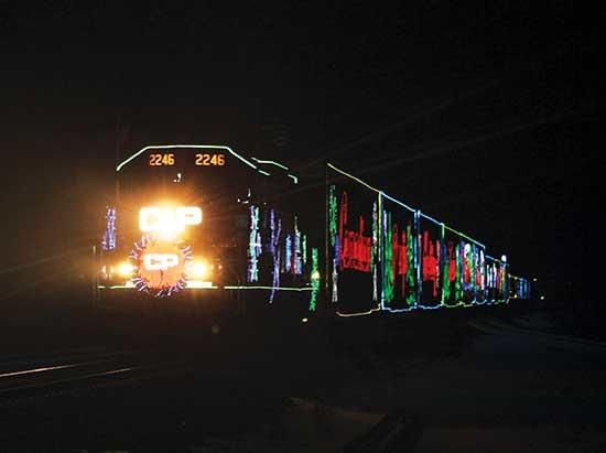 The Canadian Pacific Holiday Train will be stopping in Buffalo on Thursday, December 12, at the 5th Street Northeast crossing, on the west side of the tracks.Arrival is expected at 5:45 p.m. with the entertainment from 6:00 to 6:30 p.m.The...