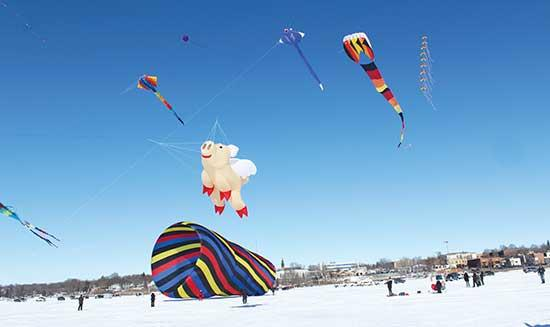 Hosted by the Buffalo Chamber of Commerce and Tourism Bureau, the second annual Kites on Ice Festival on Buffalo Lake was a huge success last Saturday, Feb. 8. It's estimated that around 4,000 made their way to Sturges Park, where cornhole...