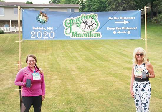 COVID-19 may be canceling events, but runners are still finding a way to finish their race. With so many events and marathons being eliminated, folks have had to get creative with their participation.  Grandma's MarathonUp north, Grandma's...