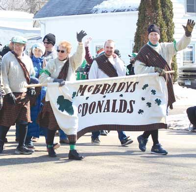 Yet another strong St. Patrick's Day celebration finds Maple Lake on Saturday, March 16.