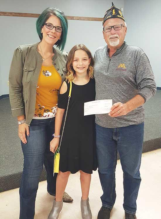 Written and submitted by Emily Miller Ten-year-old Sarah Miller, of Buffalo, looking to contribute in a meaningful way, chose veterans for which to target her fundraising this year. This became an inspiration when her friend, Josie, raised money...