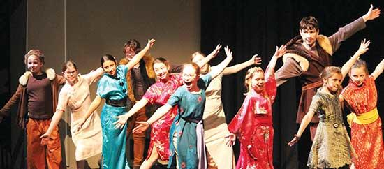 "Audiences at Buffalo Community Theater 's ""Mulan Jr."" have been enjoying the Disney retelling of the classic story from Ancient China, told with songs, dances, fight scenes, colorful costumes, a parade, a dragon and even fireworks! Final..."