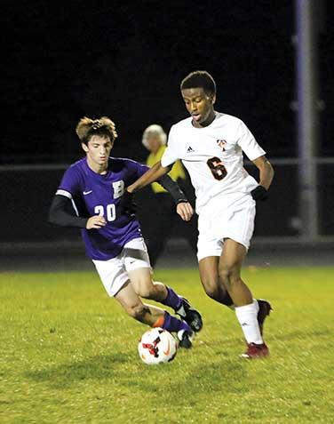 """A 3-1 home loss Monday night to St. Cloud Tech pretty much sealed the Buffalo boys' soccer team's playoff fate.Despite a 7-4-2 overall record, the loss to the Tigers dropped the Bison's section record to 0-4-1 with no section games remaining.""""We..."""