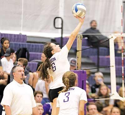 For only the second time in team history, the Buffalo volleyball team advanced to Saturday's championship bracket in the St. Michael-Albertville Midwest Fall Classic Volleyball Tournament.A pair of 2-1 victories over Maple Grove and Grand Rapids in...