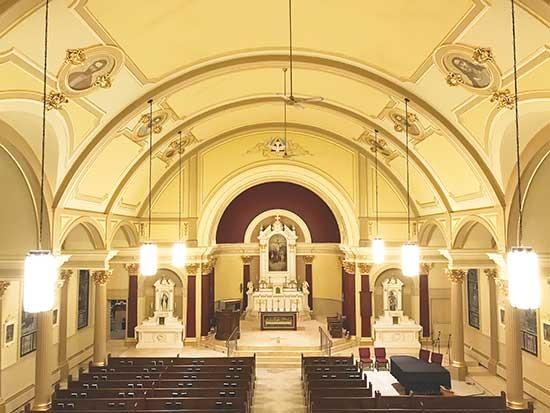 Whether or not you attended a Christmas service at St. Francis Xavier Catholic Church in December, you may have heard of the church's most recent accomplishment: a completed renovation of their sanctuary.Beginning in June 2018, the project began...