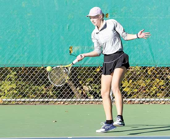 The girls tennis season ended against a familiar opponent when Buffalo lost 7-0 on Wednesday, Oct. 7 at Wayzata High School.It's the third time the past four years the Trojans have ended Buffalo's season in the Section 5AA team tourney. It's the...