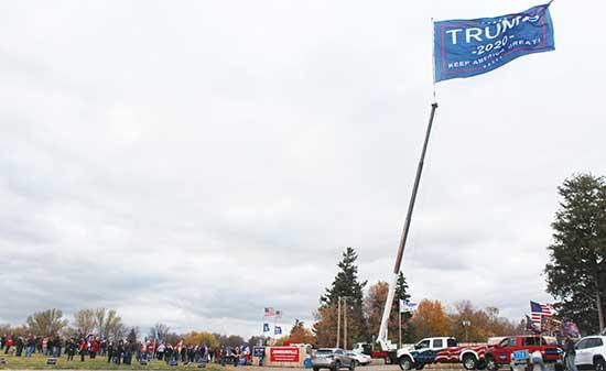 On Wednesday, Oct. 14, Minnesotan Republicans and patriots gathered by the hundreds under the 50-foot flag in Buffalo. Decked out in their finest patriotic and Trump gear, the attendees enjoyed hearing from local leaders and spending time together,...