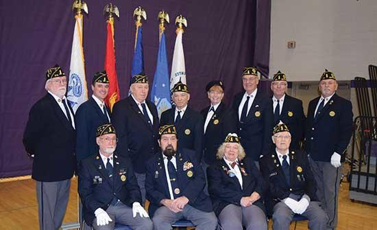 "Veterans from around the area were honored at a Veterans Day ceremony at Buffalo High School on Monday, November 11.The program featured guest speaker U. S. Senator Tina Smith and was highlighted by remarks from the Guida family.""We're here today..."