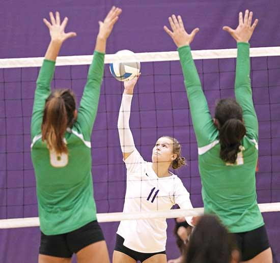 Four of last six matches scheduled against sub-.500 teams The Buffalo volleyball team had a rare opportunity in its schedule to build a little momentum.With six matches remaining before a potential section tournament, four of the  scheduled...
