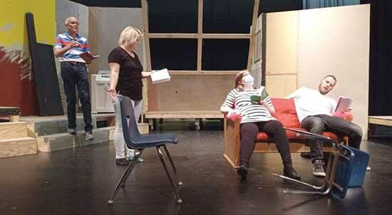 """Despite the colder weather, actors and actresses in Buffalo are taking off their shoes and strolling barefoot outside. But it's only to prepare for their upcoming production of Neil Simon's """"Barefoot in the Park.""""This hilarious play follows..."""