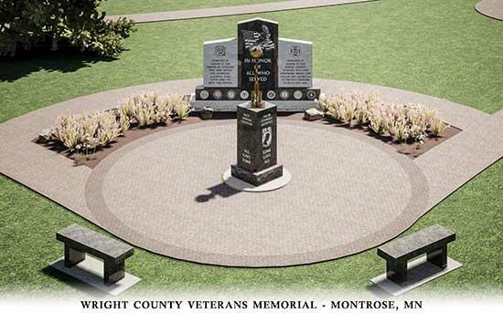 Members of the Honor Project Committee have been working with the Wright County VFW members since 2016 to plan and fund a memorial to honor Wright Co. Veterans.After considerable review of the original concept, the Committee determined that...